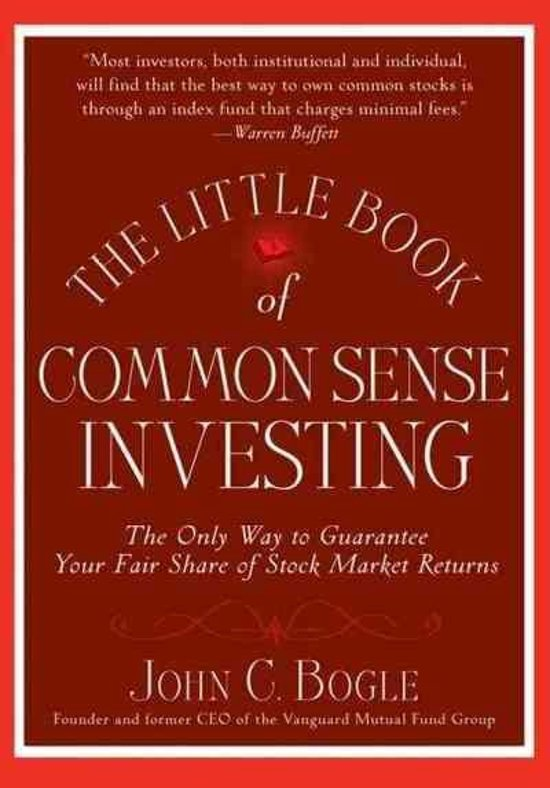 little book of common sense investing cover foto