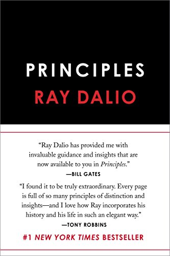 Principles door Ray Dalio boek cover