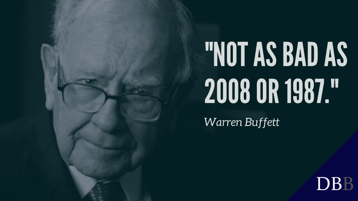buffett not as bad as 2008 or 1987 cover foto